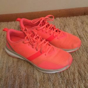 Under Armour Women's Bright Coral Athletic Shoes